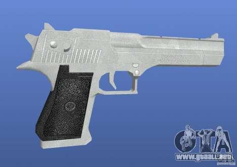 Silver Deagle para GTA 4 segundos de pantalla