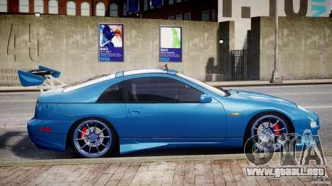 Nissan 300 ZX 1994 v1.0 para GTA 4 Vista posterior izquierda