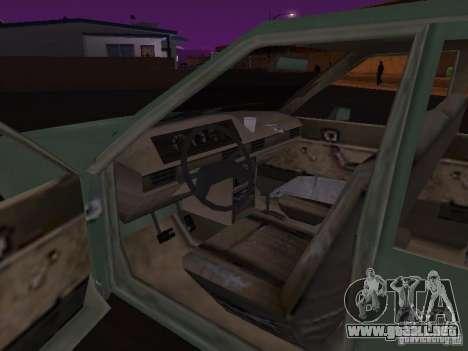 Máquina de CoD: MW para GTA San Andreas vista hacia atrás