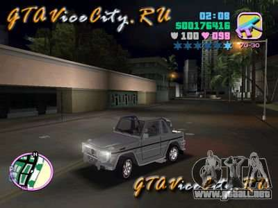 Mercedes-Benz G-Cabrio para GTA Vice City