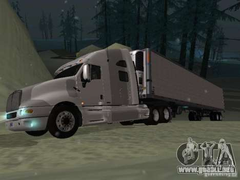 Remolque frigorífico para GTA San Andreas vista hacia atrás