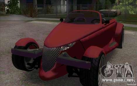Plymouth Prowler para GTA San Andreas