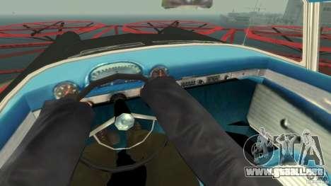 Smith Thunderbolt Mafia II para GTA 4 vista interior