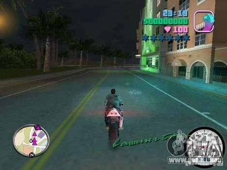 Velocímetro para GTA Vice City tercera pantalla