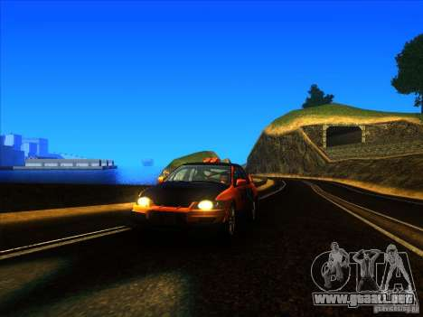 Mitsubishi Lancer Evolution IX MR para GTA San Andreas left