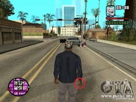 Mojón para GTA San Andreas segunda pantalla