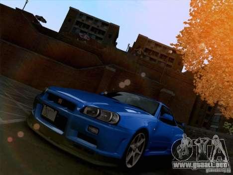 Realistic Graphics HD 3.0 para GTA San Andreas sucesivamente de pantalla