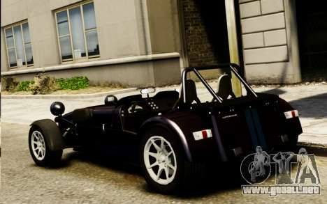 Caterham Superlight R500 v1.0 para GTA 4 left