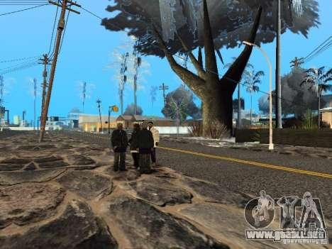 Víspera de año nuevo en la calle Grove para GTA San Andreas sexta pantalla