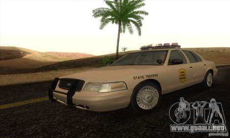 Ford Crown Victoria Iowa Police para GTA San Andreas