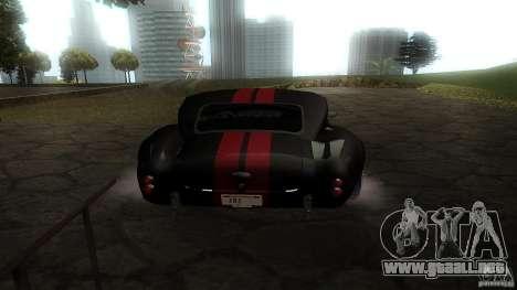 Shelby Cobra Dezent Tuning para la visión correcta GTA San Andreas