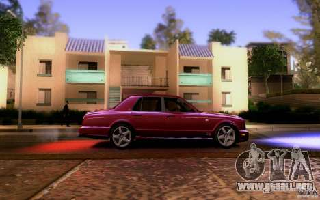 Bentley Arnage para visión interna GTA San Andreas