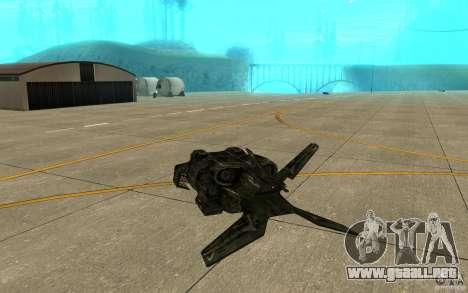 El transbordador desde el juego Aliens vs Predat para la visión correcta GTA San Andreas