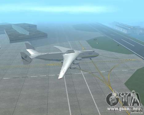 El an-225 Mriya para GTA San Andreas left