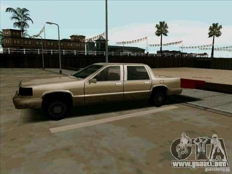 Una limusina corta para GTA San Andreas left