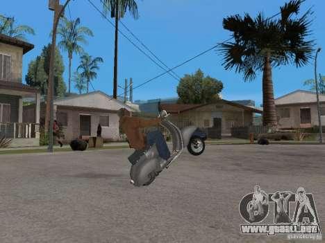 Vyatka VP 150 para la visión correcta GTA San Andreas
