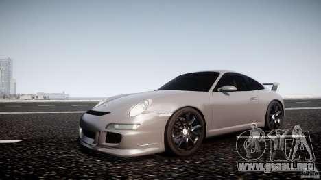 Porsche GT3 997 para GTA 4 left