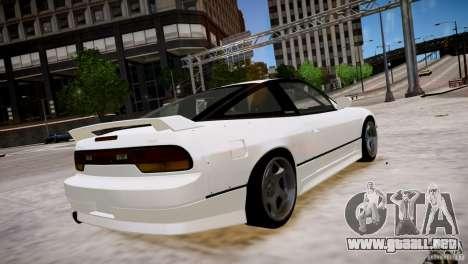 Nissan 240SX Drift para GTA 4 visión correcta