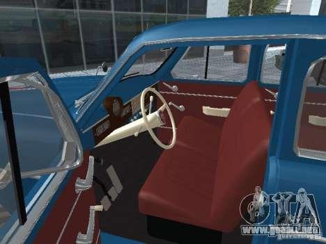 Moskvitch 410 4 x 4 para GTA San Andreas vista hacia atrás