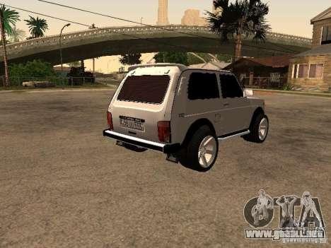 Armenian NIVA DORJAR 4 x 4 para la visión correcta GTA San Andreas