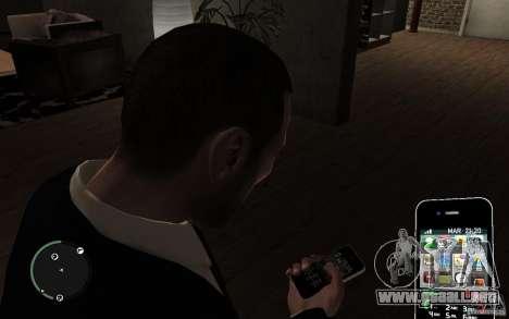 iPhone 4 black para GTA 4