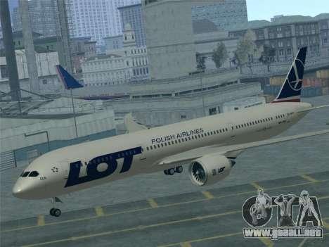 Boeing 787-9 LOT Polish Airlines para el motor de GTA San Andreas