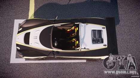 Lotus 2-11 para GTA 4 visión correcta