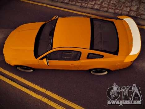 Ford Mustang GT 2010 Tuning para la visión correcta GTA San Andreas
