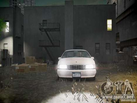 Chevrolet Caprice 1993 Rims 1 para GTA 4 vista superior