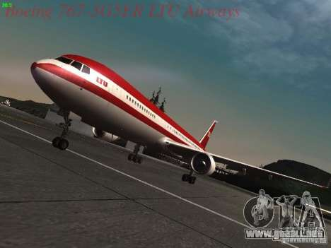 Boeing 767-3G5ER LTU Airways para GTA San Andreas