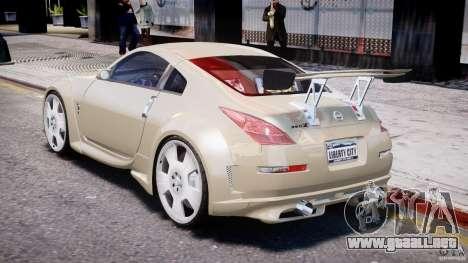 Nissan 350Z Veilside Tuning para GTA 4 visión correcta