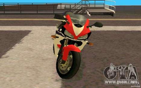 Honda Fireblade 1000RR para GTA San Andreas left