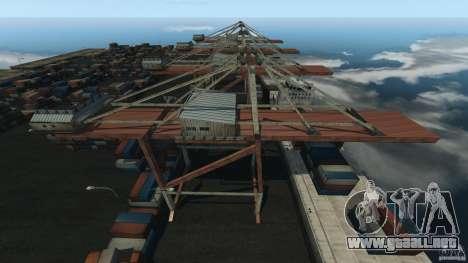 Tokyo Docks Drift para GTA 4 tercera pantalla