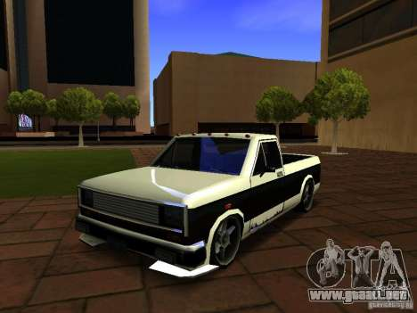 New Tuned Bobcat para GTA San Andreas