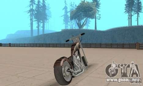 Desperado Chopper para GTA San Andreas left