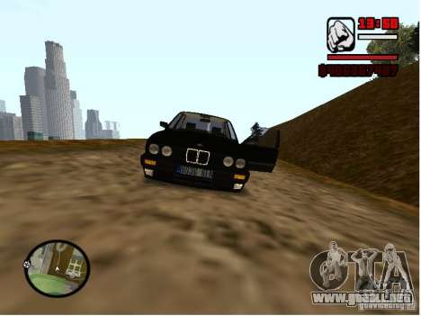 BMW 325i E30 para la visión correcta GTA San Andreas