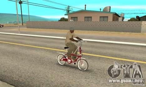 Child Bicycle para la visión correcta GTA San Andreas