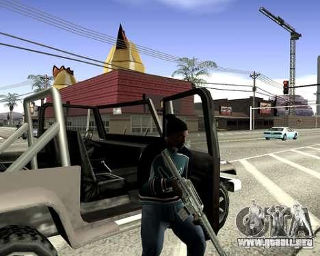 Cubierta del sistema para GTA San Andreas décimo de pantalla