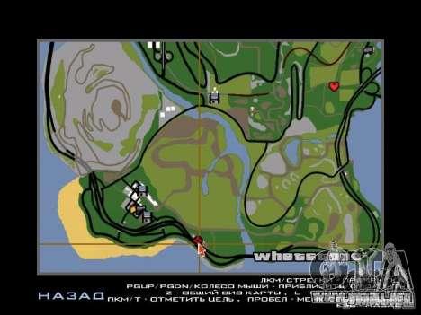 Nueva ciudad v1 para GTA San Andreas novena de pantalla