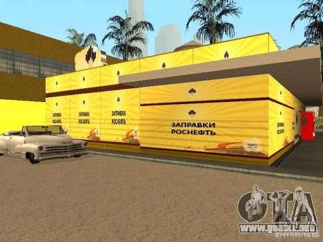 Nuevas texturas gasolineras para GTA San Andreas segunda pantalla