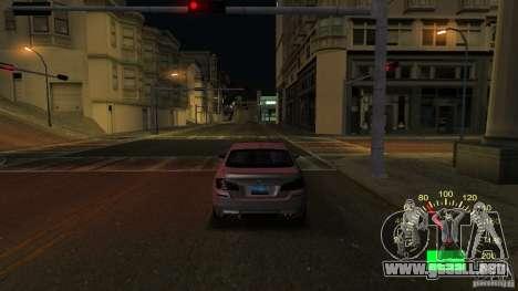Velocímetro VAZ 2110 para GTA San Andreas