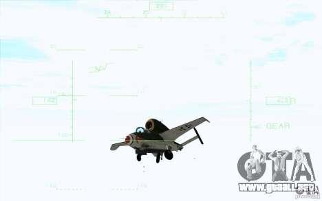 Henkel 162A Salamander para la visión correcta GTA San Andreas