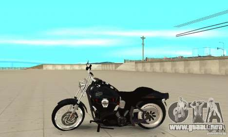 Harley Davidson FXSTBi Night Train para GTA San Andreas left