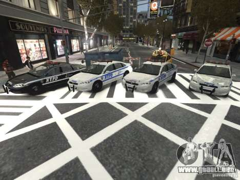 Chevrolet Impala 2006 NYPD Traffic para GTA 4 vista interior