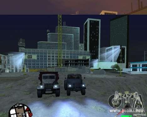 Camión KrAZ-256 para la visión correcta GTA San Andreas