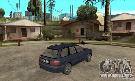 Audi 80 B4 Avant para la visión correcta GTA San Andreas