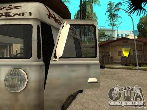 Limpiar el cristal en el Hot Dog-e para GTA San Andreas left