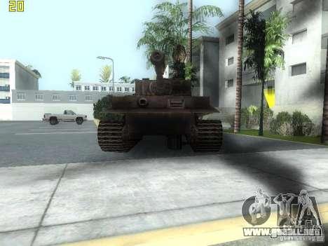 Tiger para GTA San Andreas left