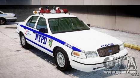 Ford Crown Victoria NYPD para GTA motor 4