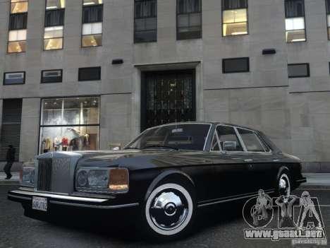 Rolls-Royce Silver Spirit 1990 para GTA 4 vista lateral